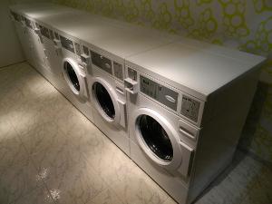 Samopostrežna pralnica perila v Luciji