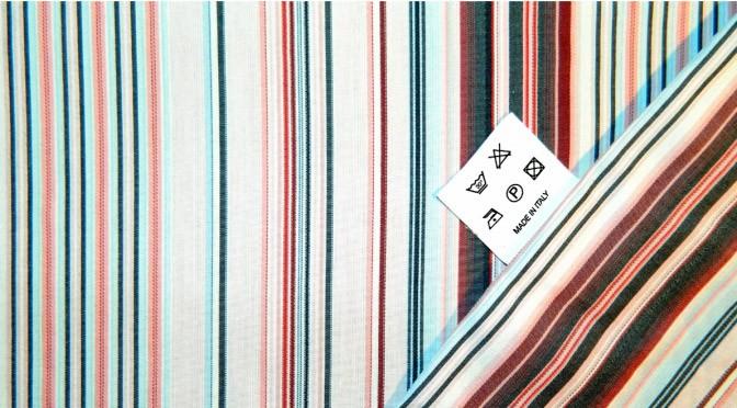 Vzdrževanje tekstila - oznake